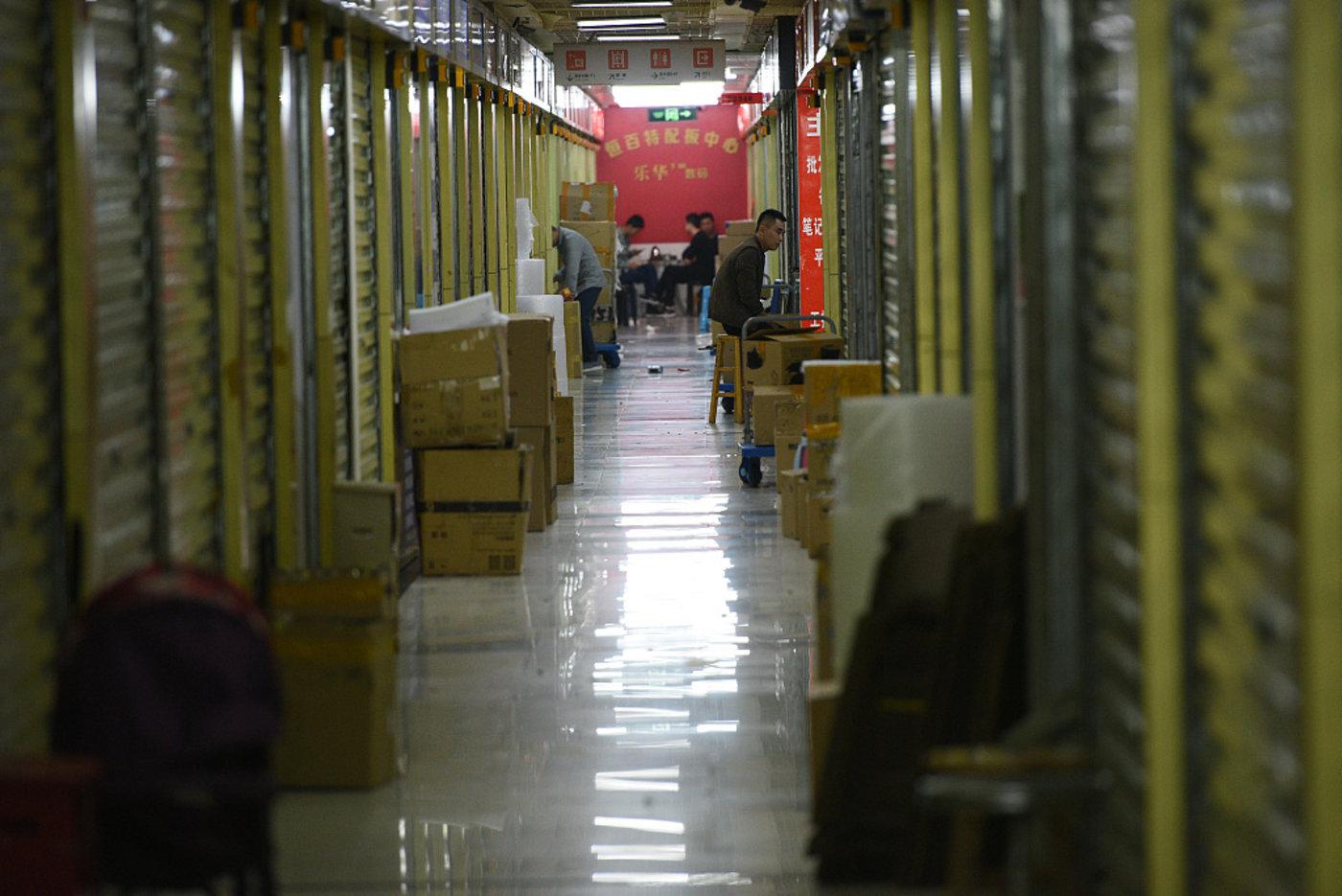 深圳华强北,图片来源@视觉中国