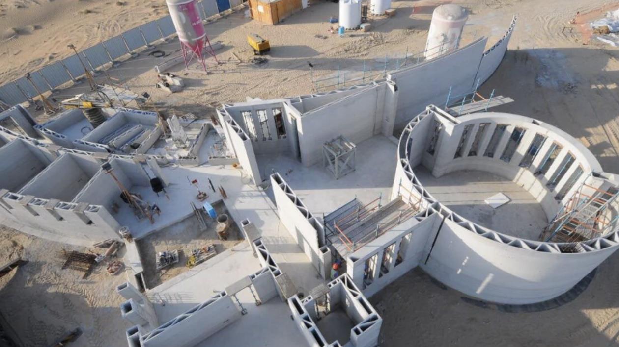【钛媒体视频】世界最大3D打印建筑落户迪拜,两层楼,用于政府办公