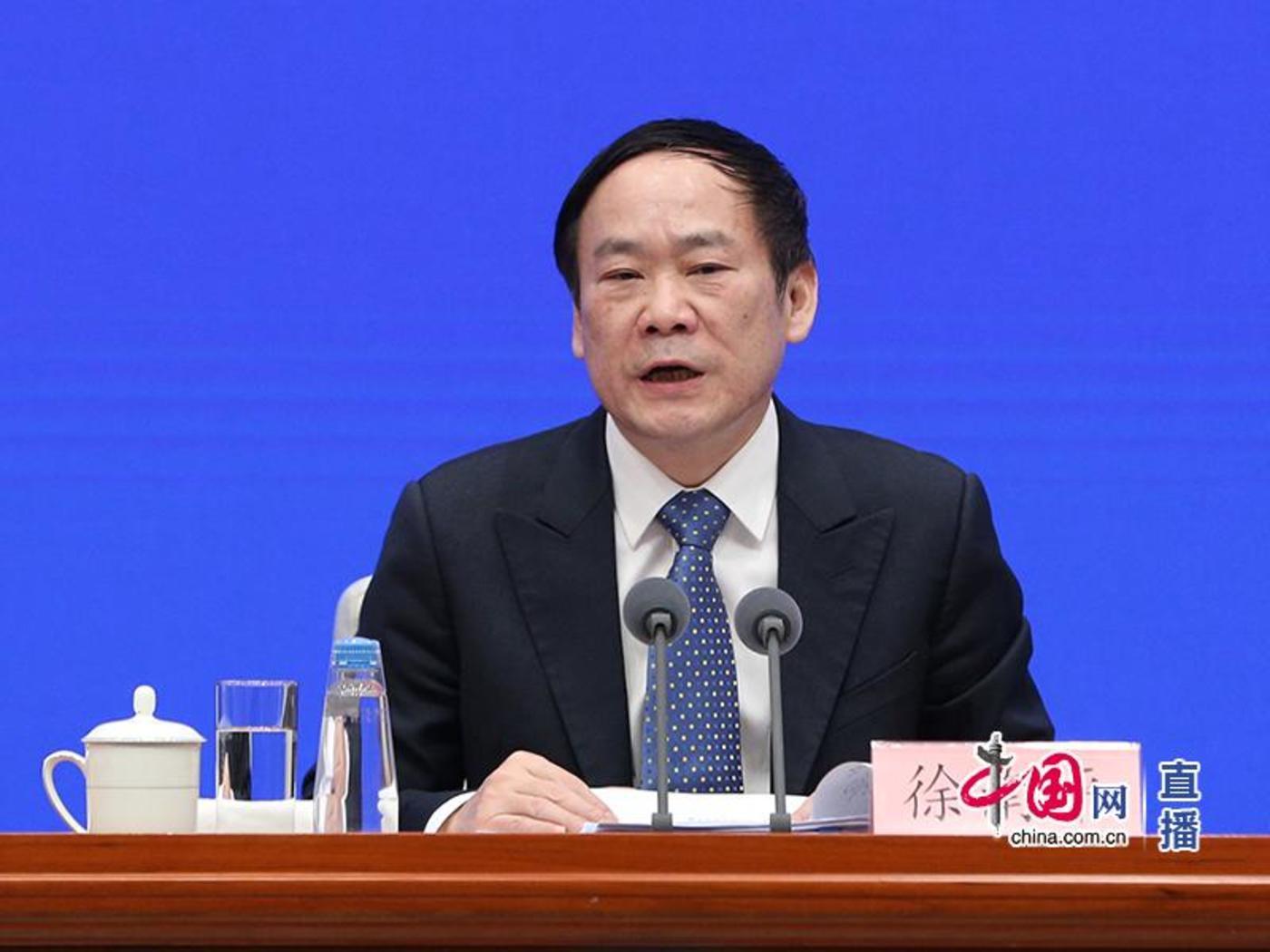 科学技术部副部长徐南平(中国网 董宁)