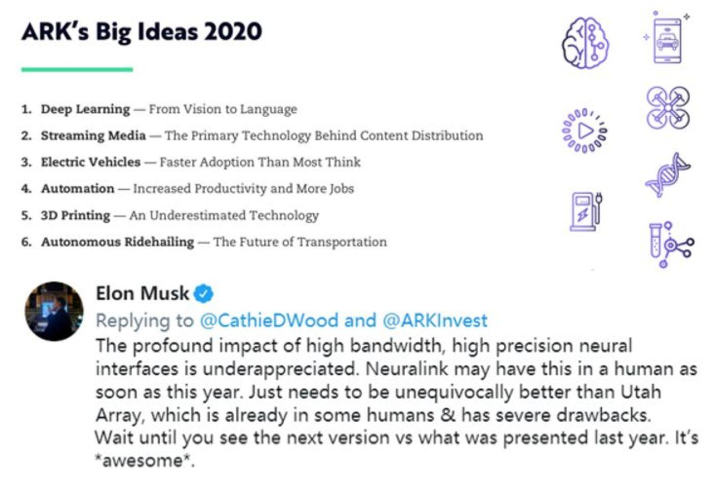 马斯克在推特上回答脑机接口被矮估