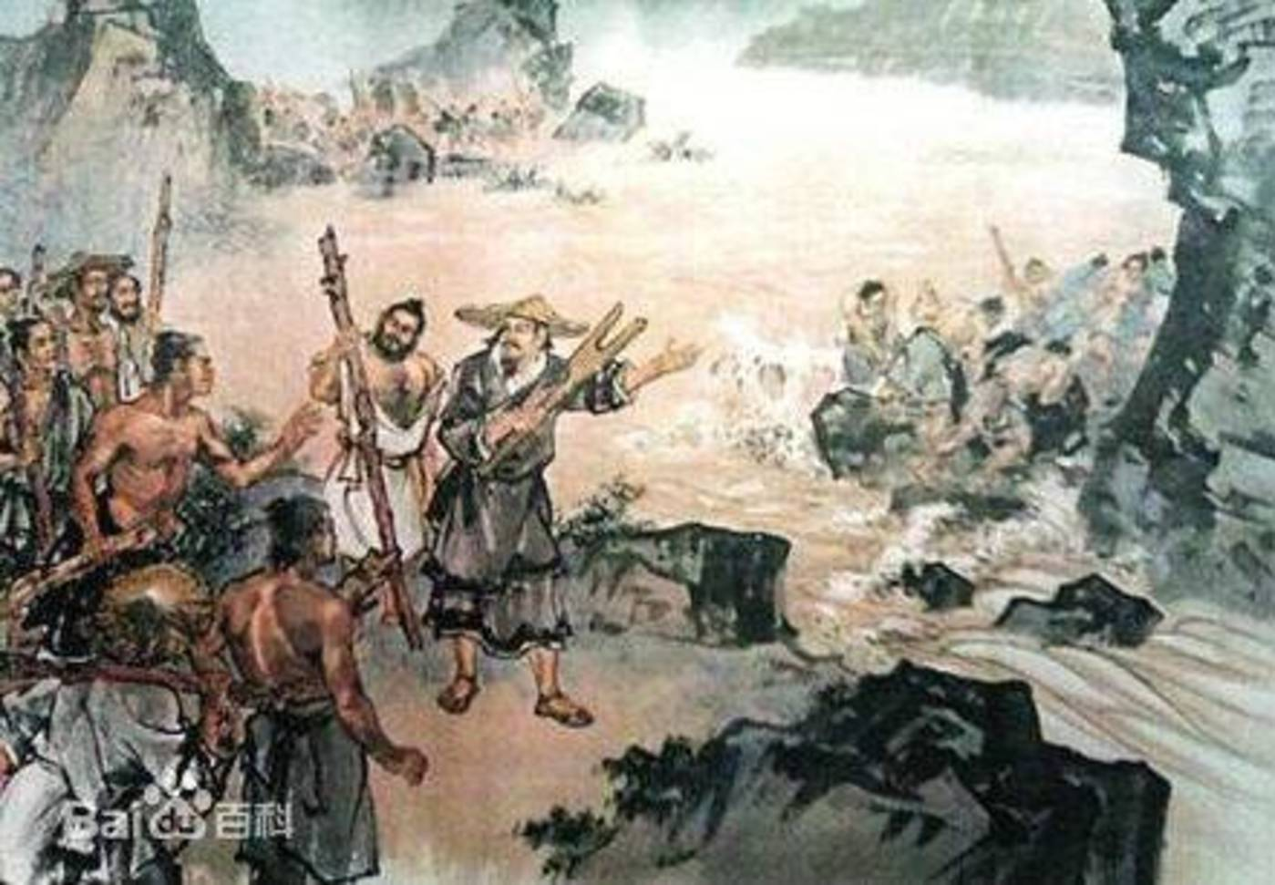 (东西方的历史上都记载了大洪水,但在传说中被看做是神仙在背后搞鬼,西方的幕后boss是耶和华,东方是共工)