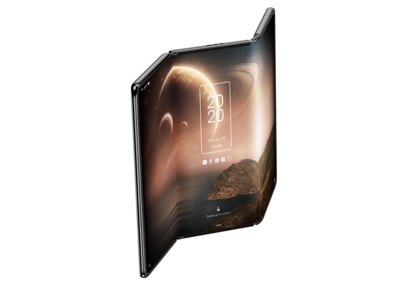 折叠屏热闹了,TCL推出云卷屏和三折屏全新概念机