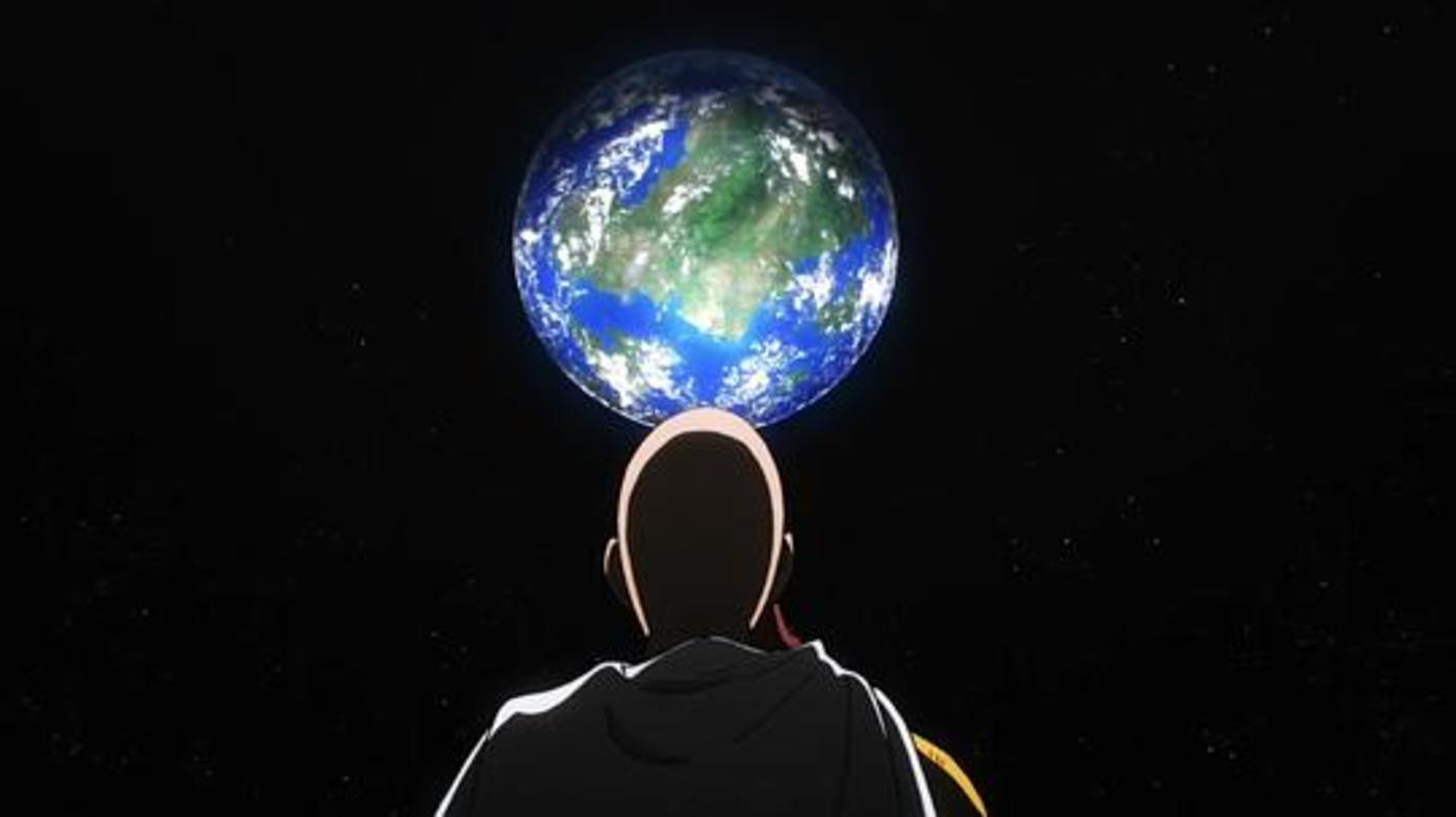 截图来源于地球最强的男人《一拳超人》