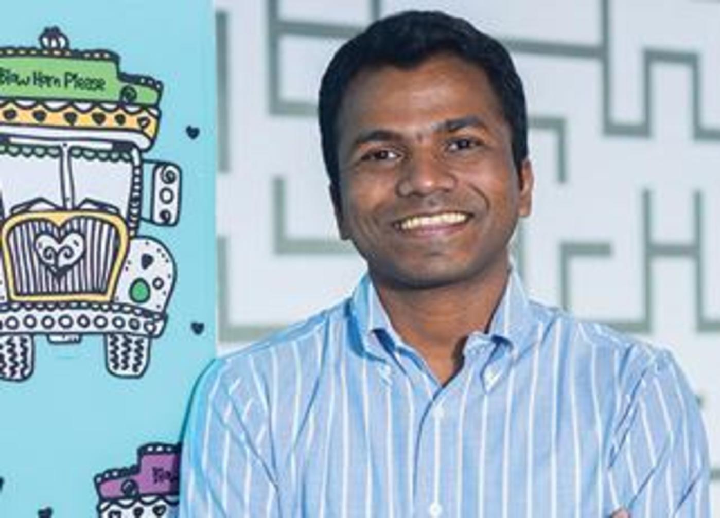 BlackBuck CEO Rajesh Yabaji