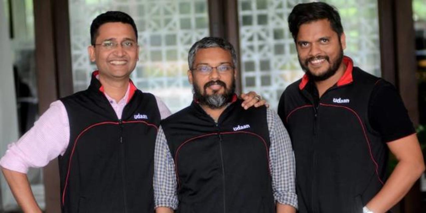 Udaan联合创始人:Amod Malviya、Sujeet Kumar和Vaibhav Gupta