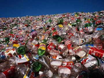 被微塑料污染的人体