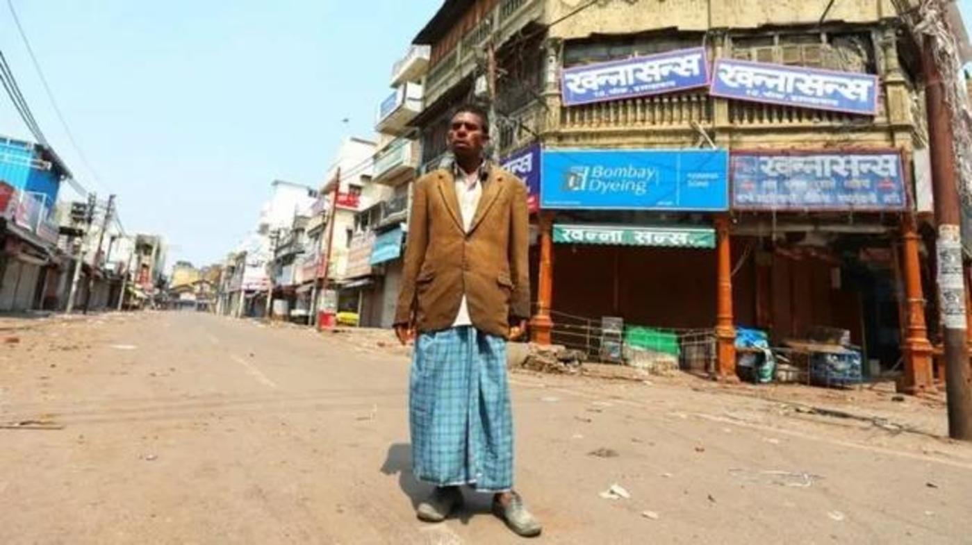 图:安拉阿巴德的人力车夫Kishan Lal,来源:BBC