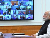 【图集】G20首次举办领导人视频峰会