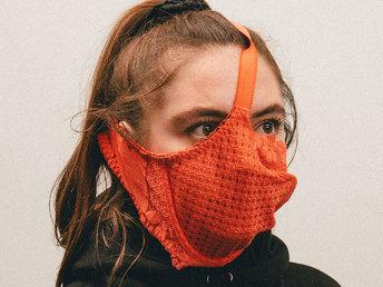 【图集】胸罩、橙子皮、卫生巾,国外奇葩防疫神器爆开脑洞
