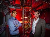 这种量子计算平台,可以在高于1K的温度中运行了