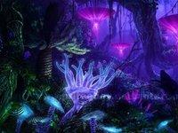 让植物发出可见光需要几步?