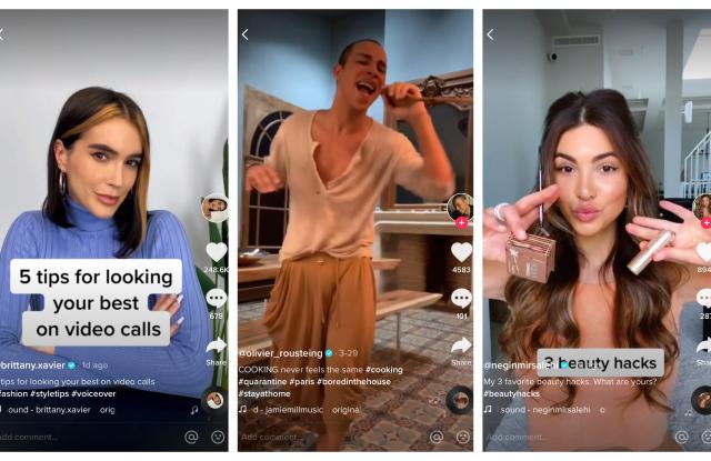 Instagram过气了?时尚宠儿们正向TikTok迁徙
