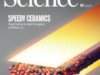 华人科学家登上Science封面:一分钟完成烧结陶瓷