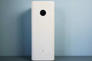 米家空气净化器F1开箱:简洁设计,小巧体积