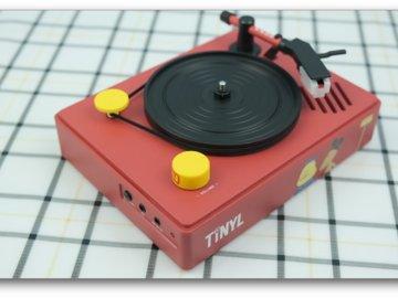 联名北海怪兽,TINYL做出了3寸mini黑胶一体唱片机