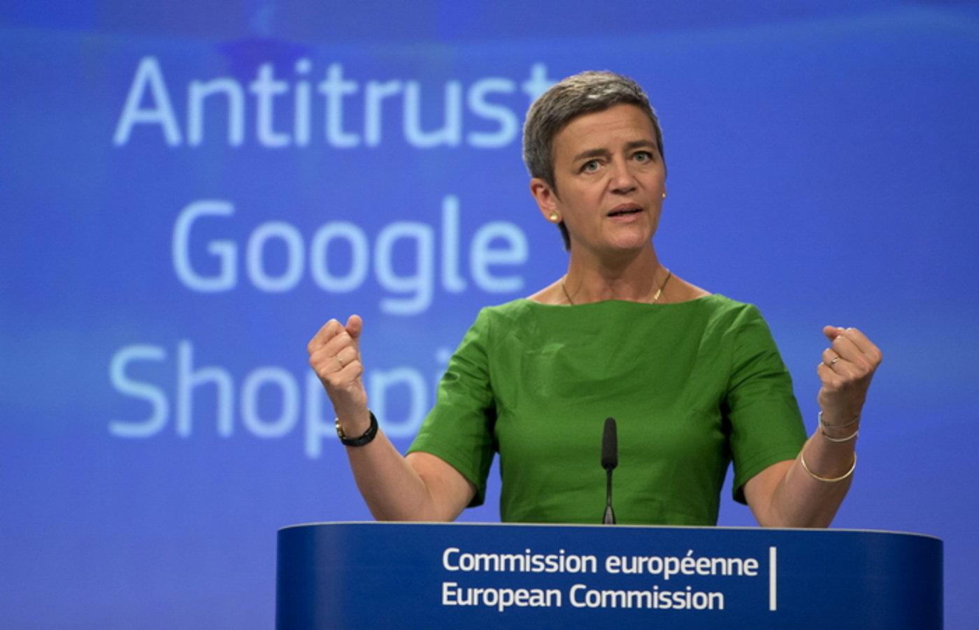 欧委会竞争事务专员玛格丽特·维斯塔格