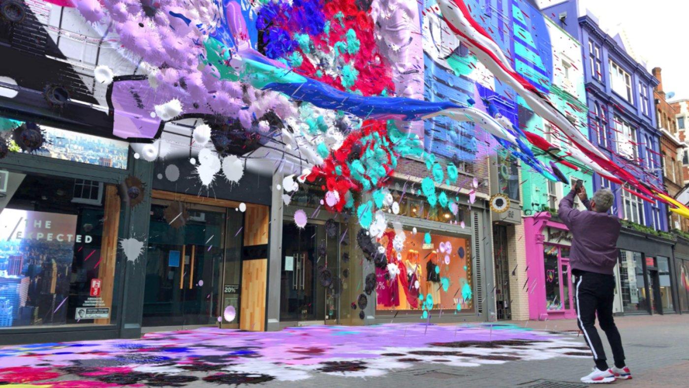 Local Lenses(本地镜头)功能 能够让用户随即创建自己喜欢的街景