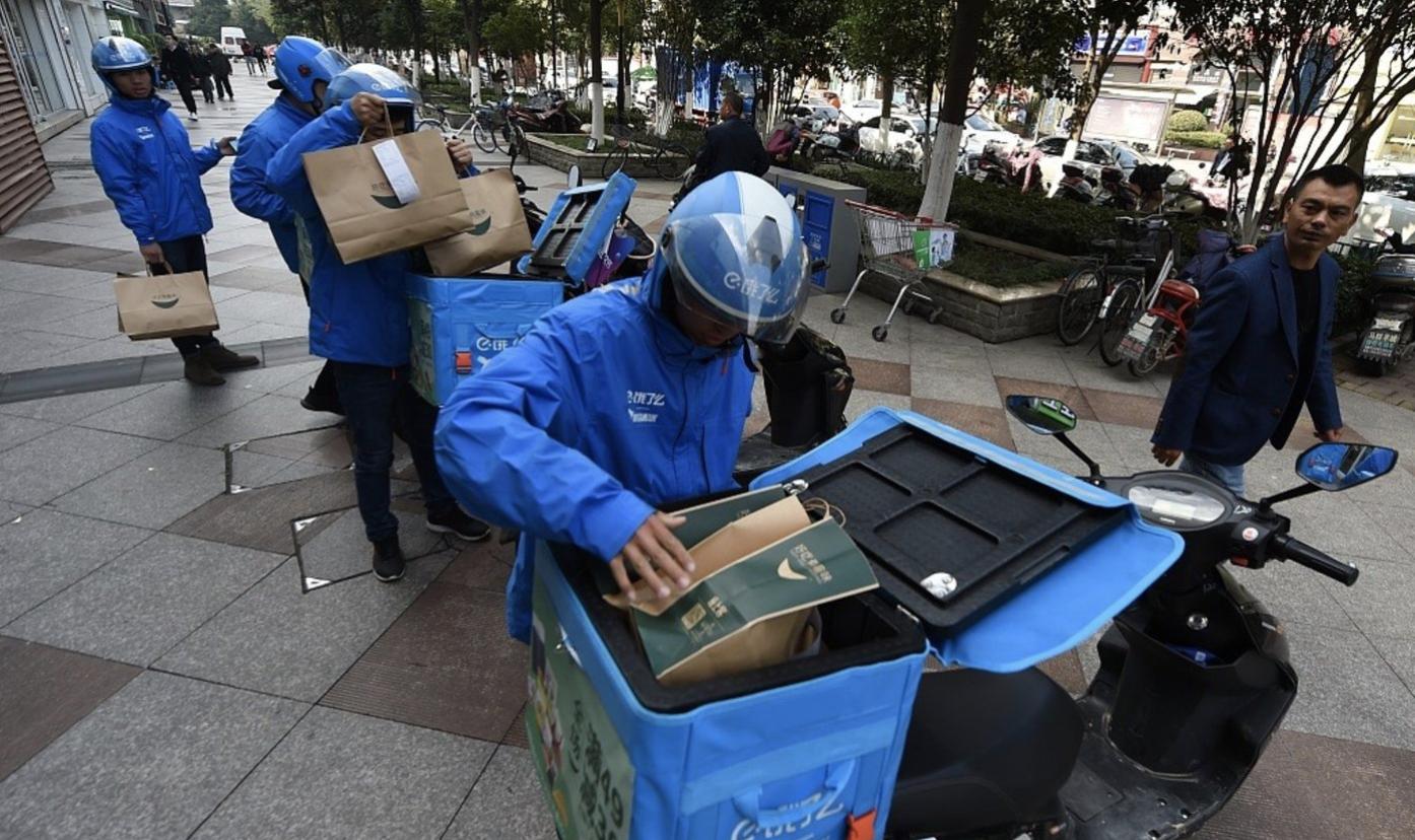 北京一外卖小哥确诊,饿了么回应:与其密切接触的骑手已被集中隔离 | 直击疫情