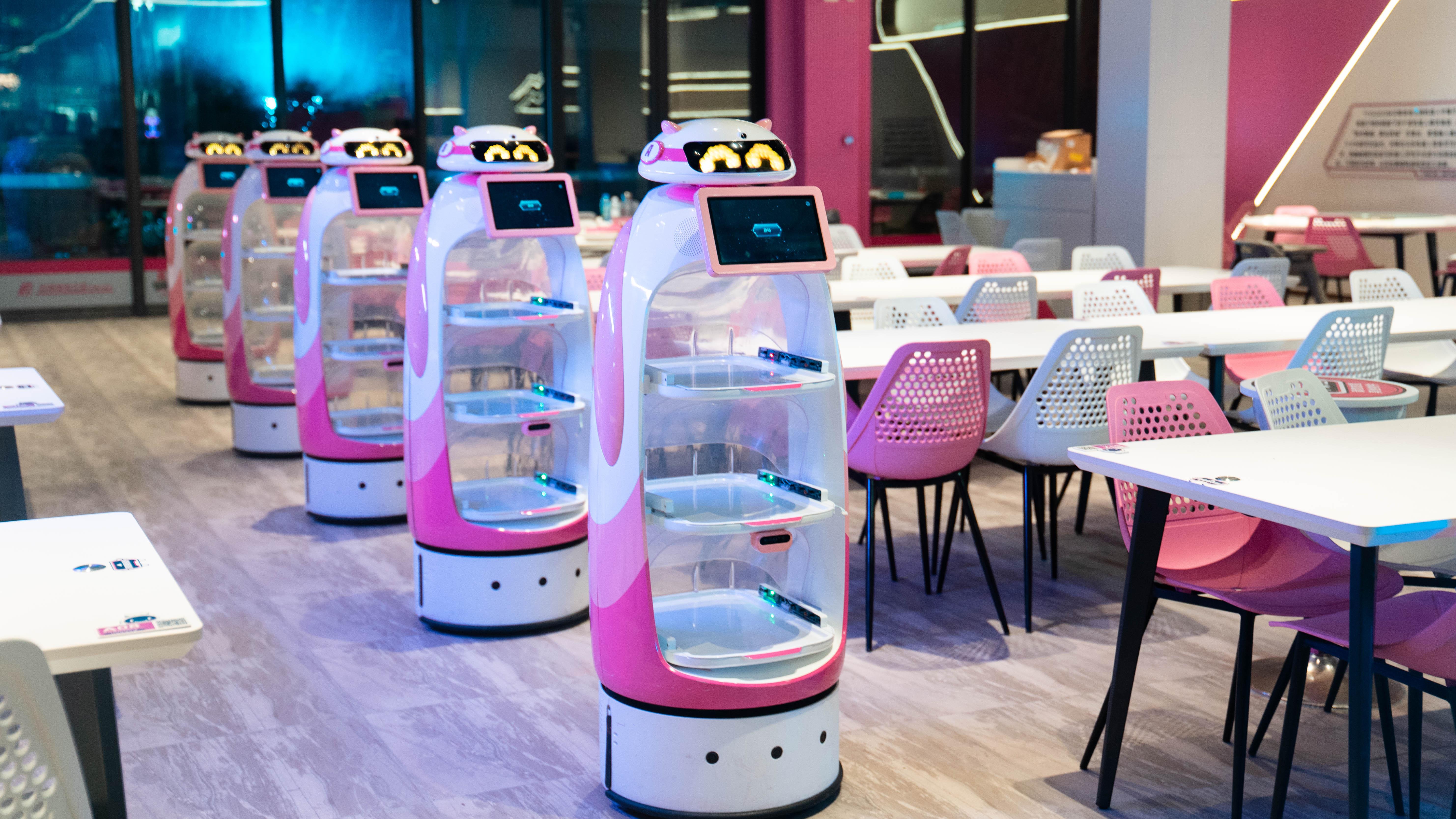 机器人送餐