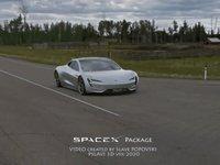 加装火箭推进器的特斯拉Roadster,打破了地表极限