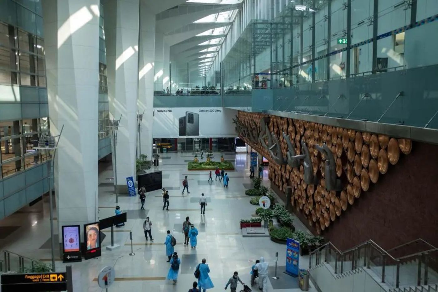德里国际机场到达大厅/冯迪