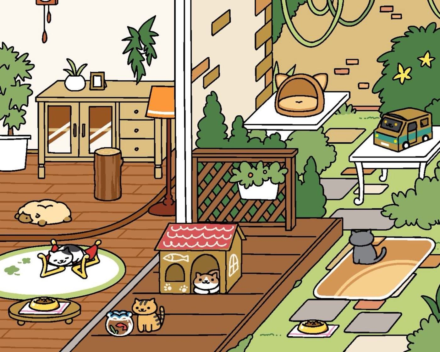 《猫咪后院》游戏截图