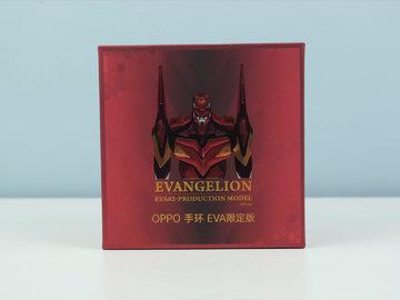 OPPO手环EVA限定版开箱:戴上明日香&2号机,一起锻炼!