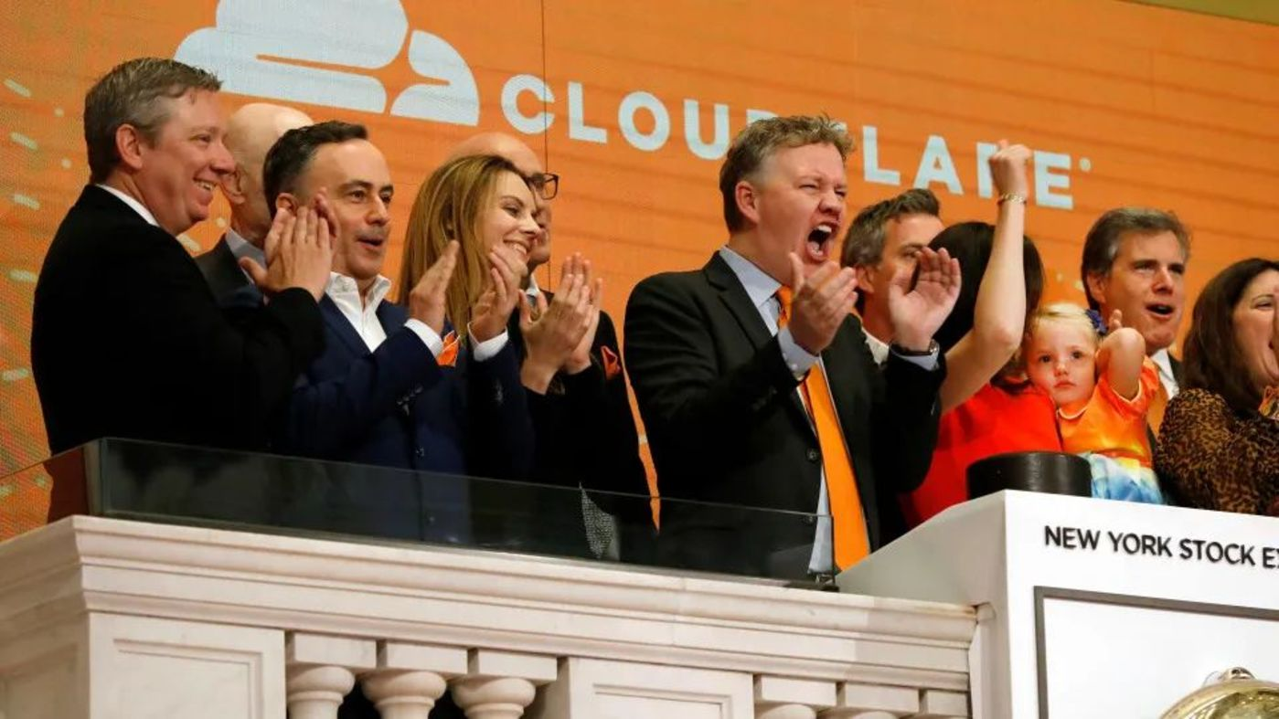 Cloudflare上市