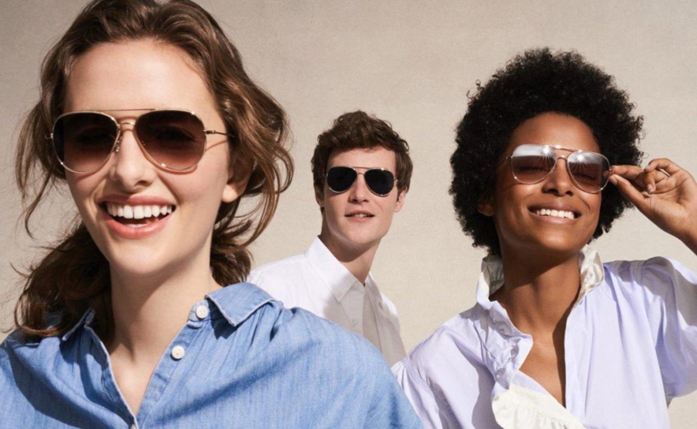 图源:Warby Parker官网