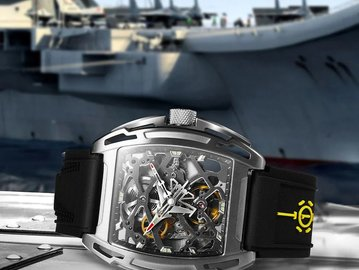 建军节硬核礼物强势上线!限量国产航母纪念腕表