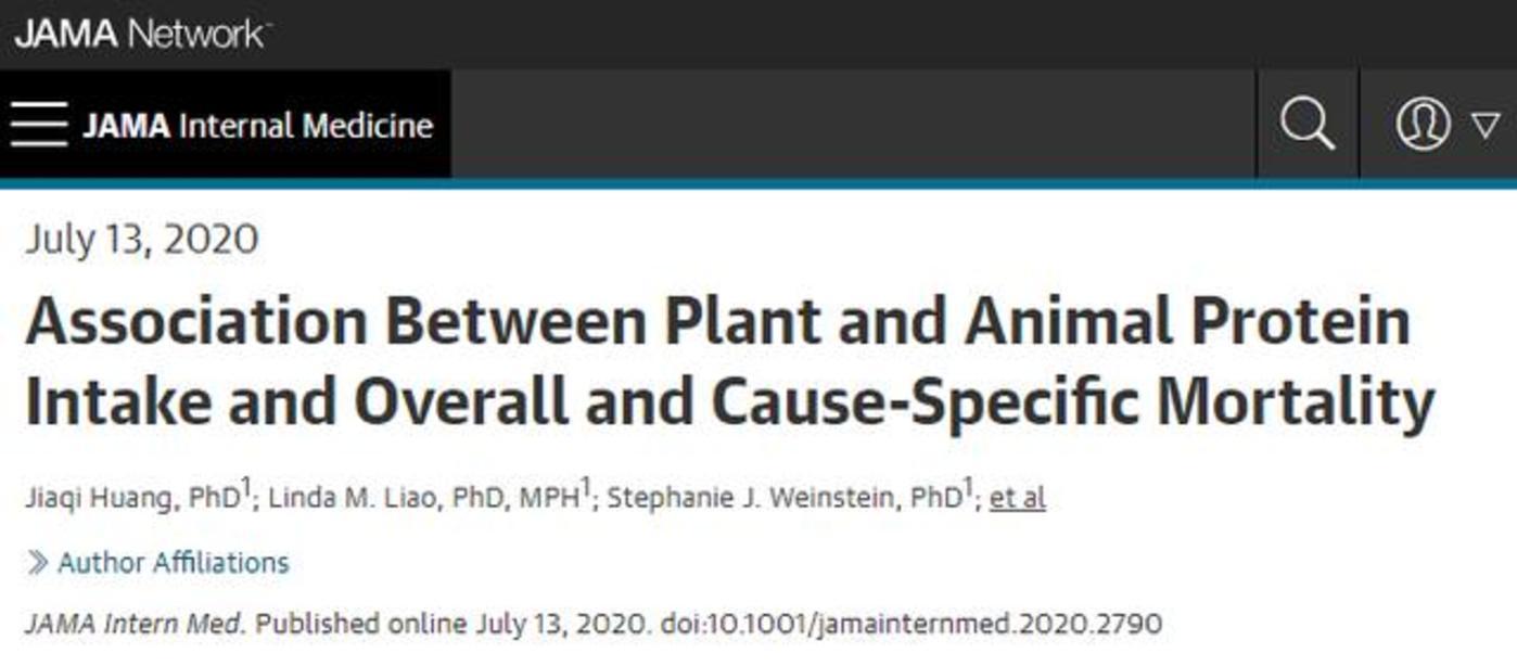 40万人16年追踪发现,多吃植物蛋白,可最高降低1/3死亡风险