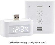 亚马逊为Echo Flex新推出智能时钟配件