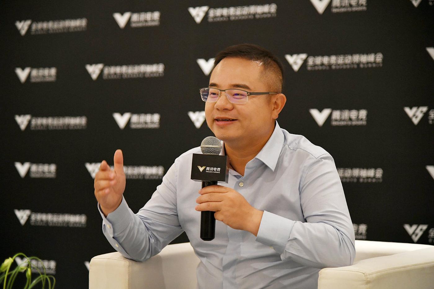 腾讯游戏副总裁、腾讯电竞业务负责人侯淼