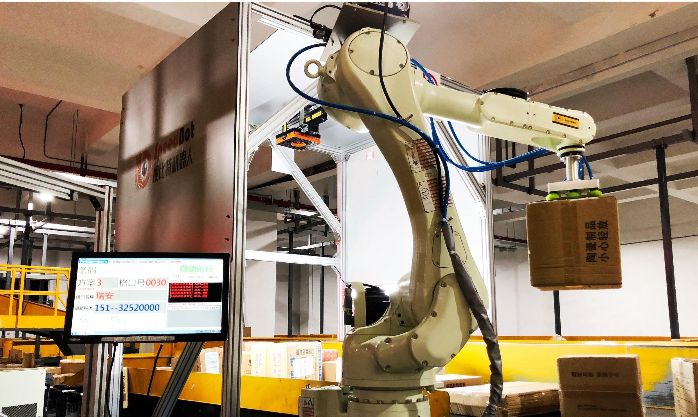 3D视觉与机器人企业视比特完成近亿元A轮融资,和玉