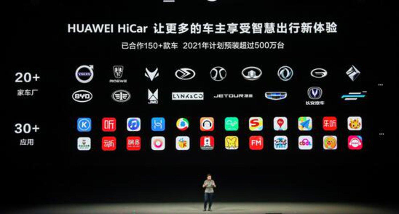 华为HiCar和它的合作伙伴们