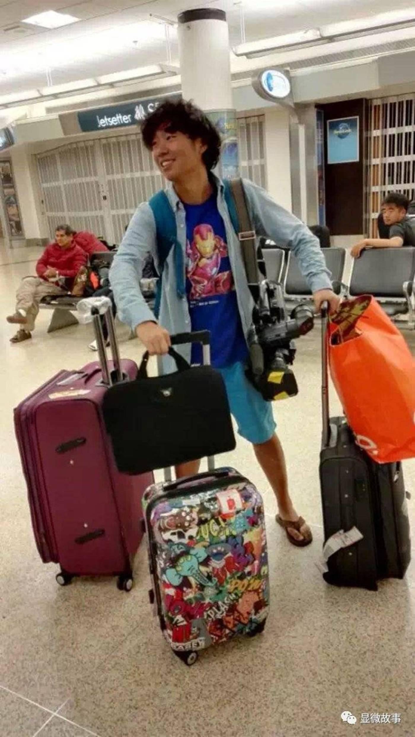 ▲每次外出拍摄时我的行李都很多。