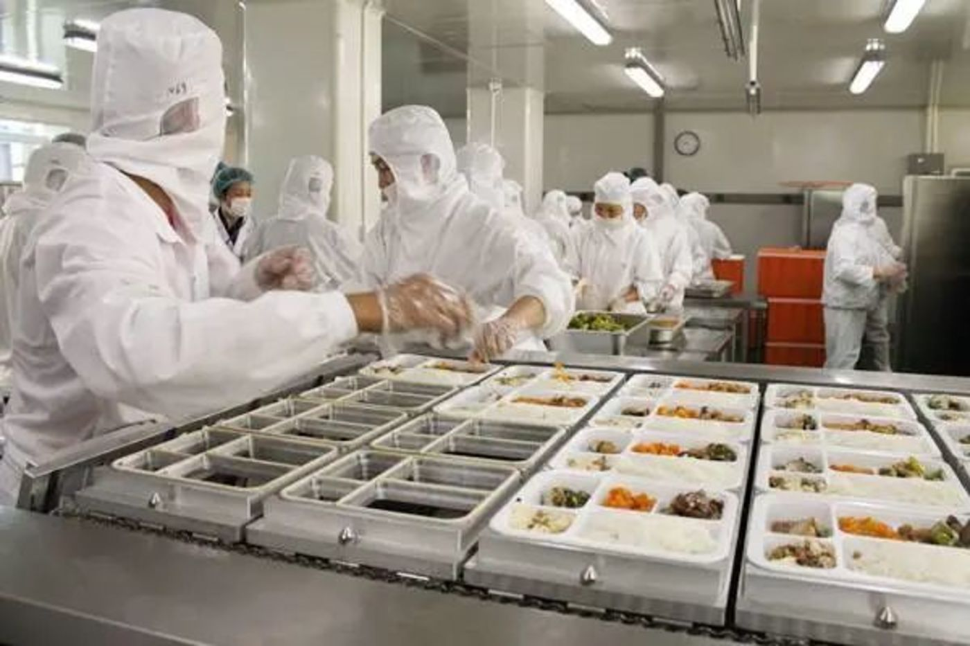 中央厨房已经是连锁大型餐饮品牌的标准配置