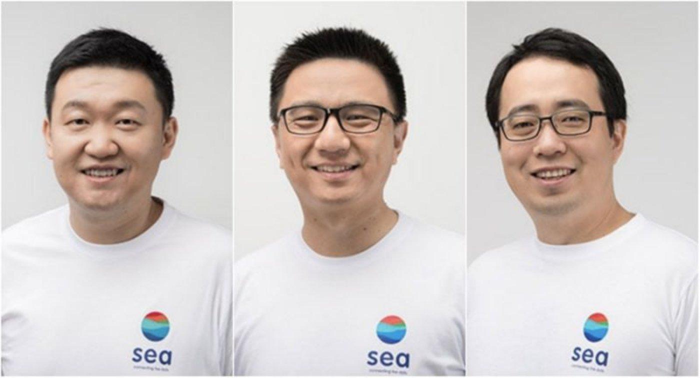 Sea的股价的飙升,已制造了三位亿万富翁:首席执行官李小冬(Forrest Li),首席运营官叶刚和Shopee的首席产品官David Chen/Sea
