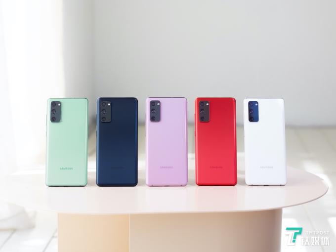 三星Galaxy S20 FE 5G正式发布:更多彩,更时尚丨钛快讯