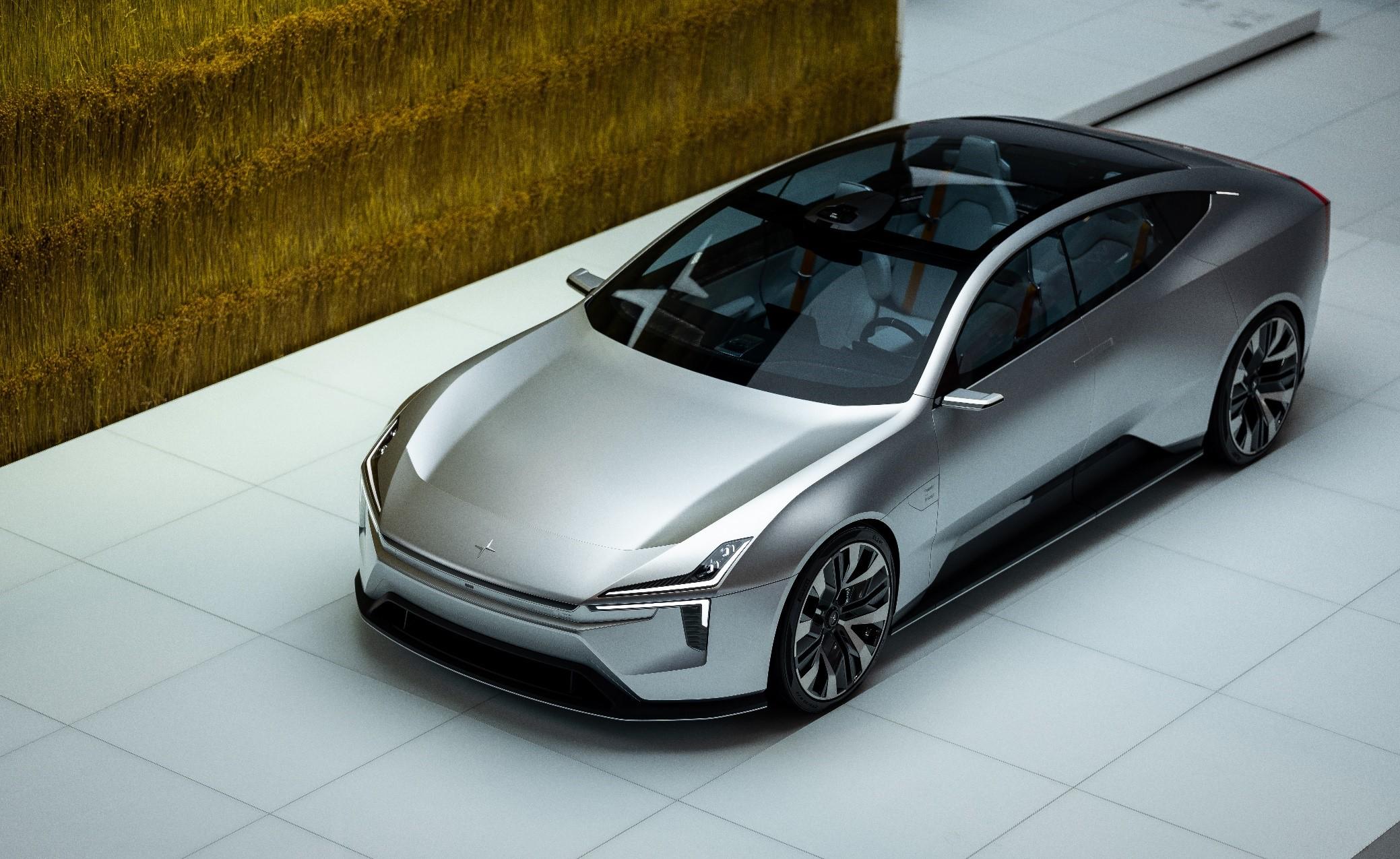 极星宣布新车型Precept将投入量产 | 2020北京车展