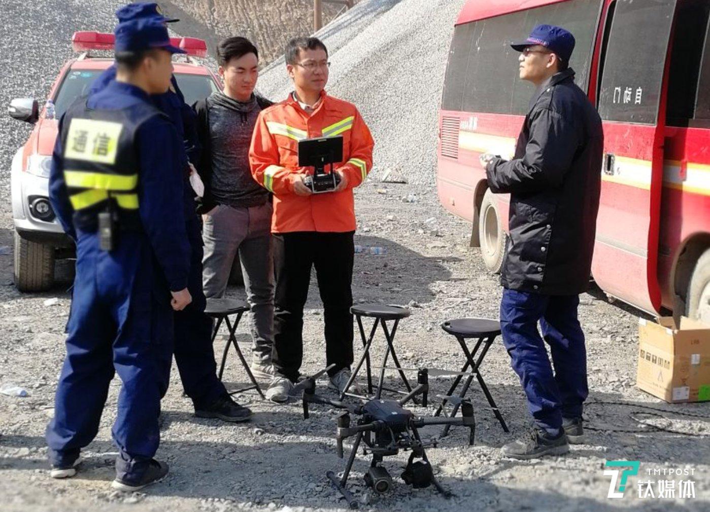 DJI 大疆行业应用现场服务团队