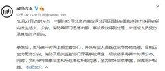 北京一辆威马电动汽车起火,威马回应:全力配合事故调查,结果将第一时间公布