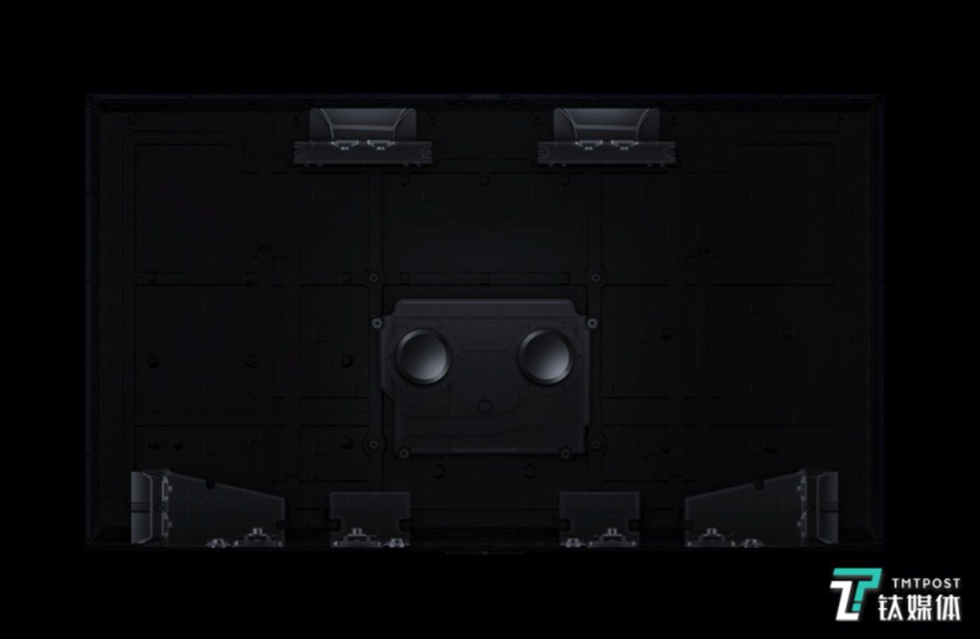 OPPO智能电视S1内置多达18个扬声器单元