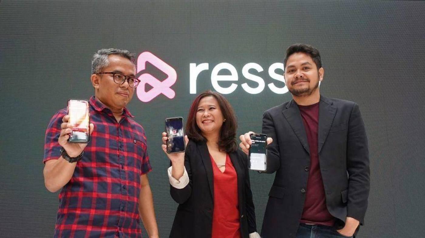 Resso在印尼的启动式/Suara.com