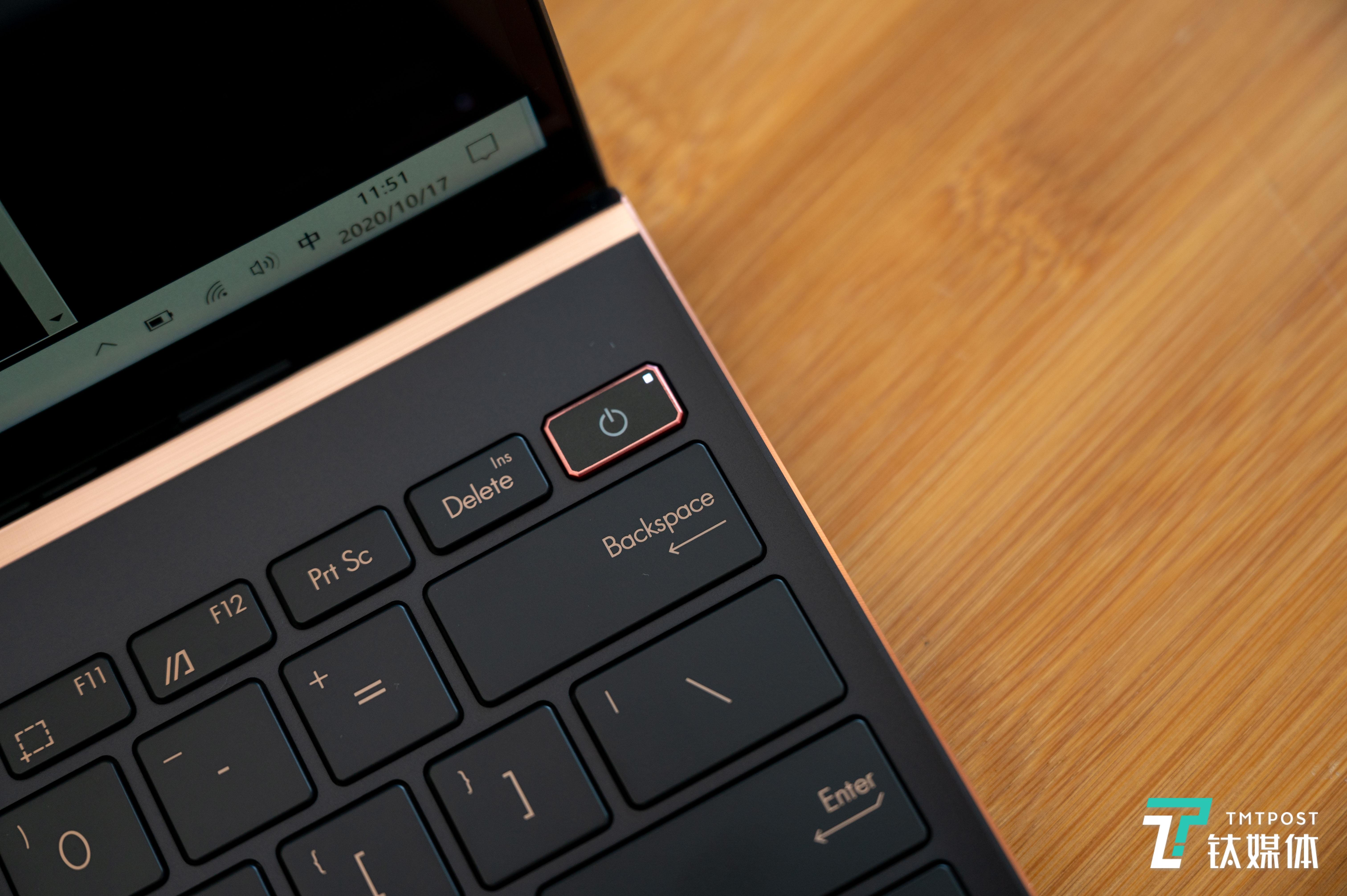 键盘设计非常紧凑