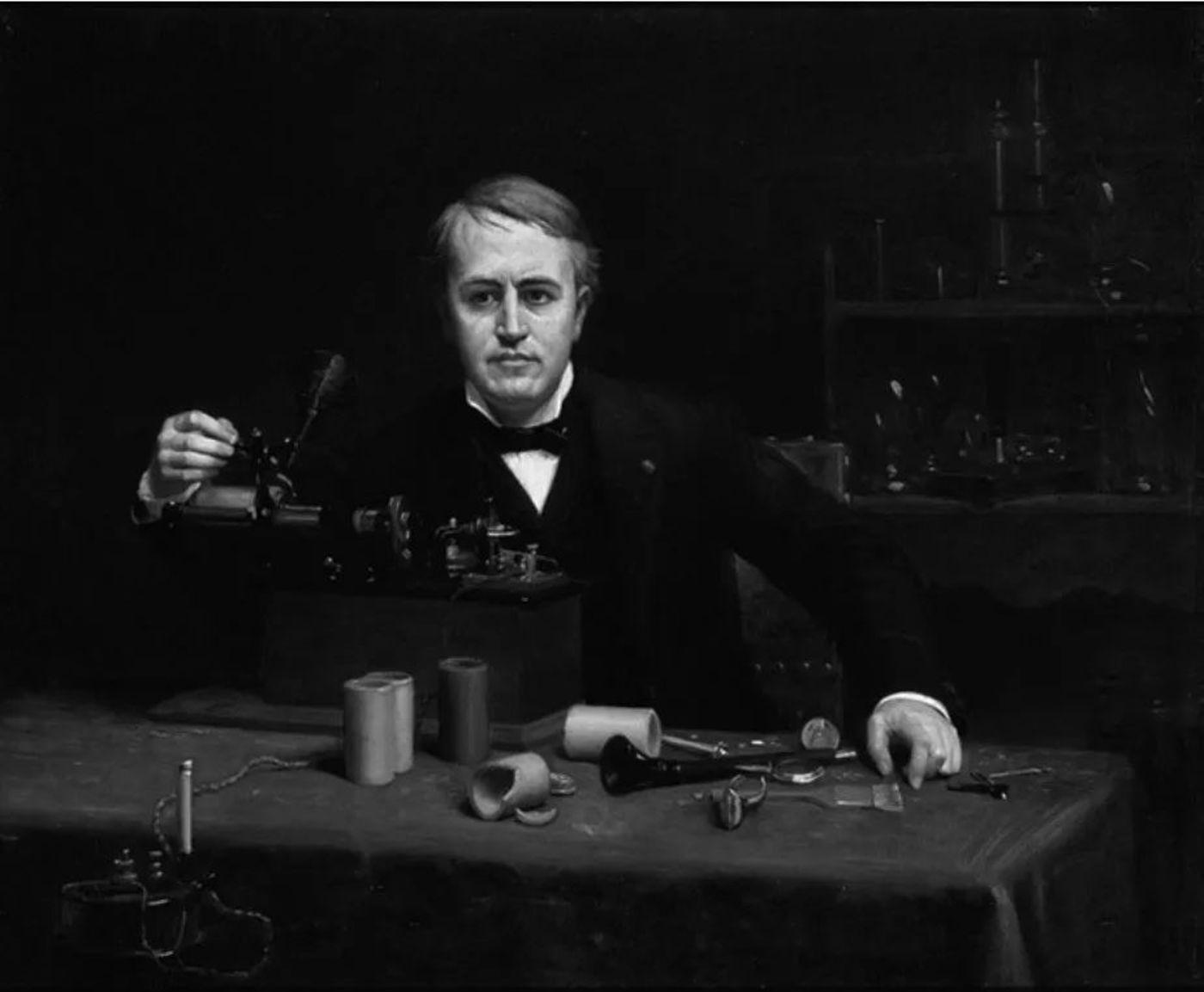 托马斯·爱迪生,发明家,电报先锋