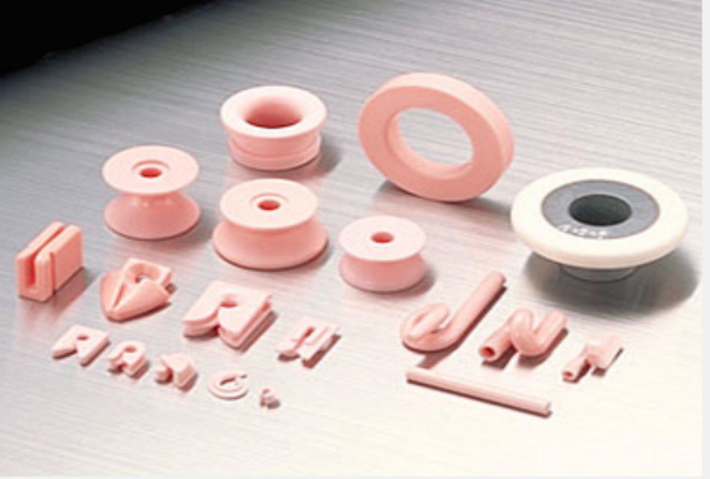京瓷生产的用于纺织机械和鱼竿的陶瓷导向件