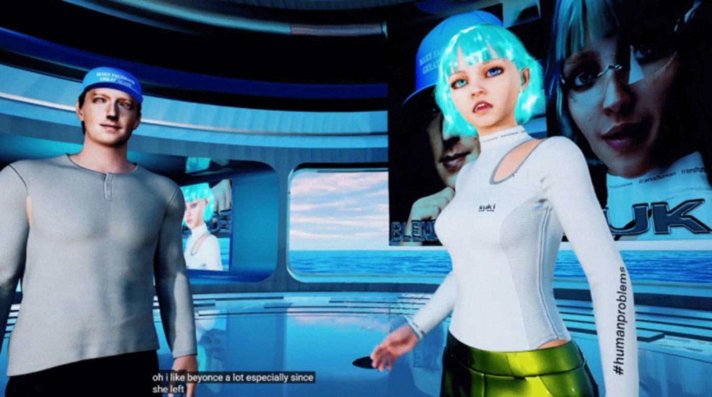图 | BlenderBot 和 Kuki 对话场景(来源:YouTube)