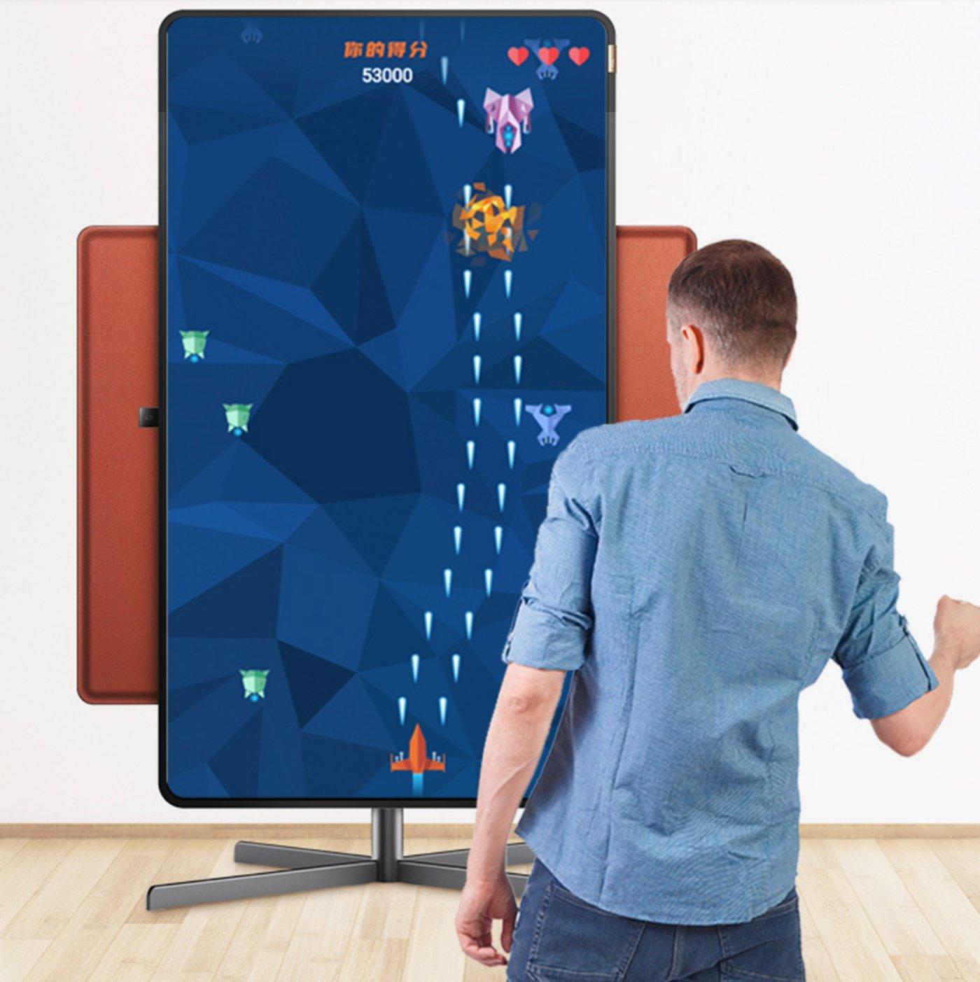 旋转智屏更适用于游戏场景