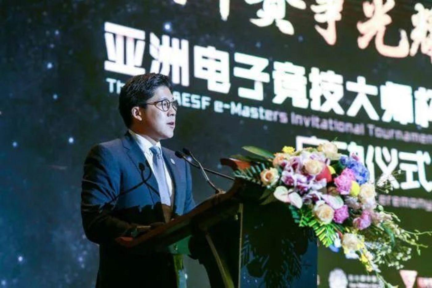 亚洲电子体育联合会主席 霍启刚